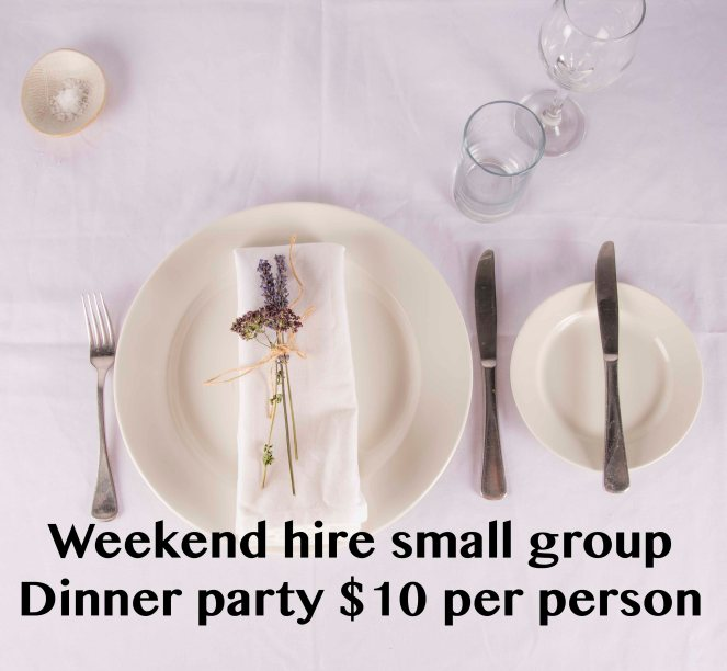 dinner party hire