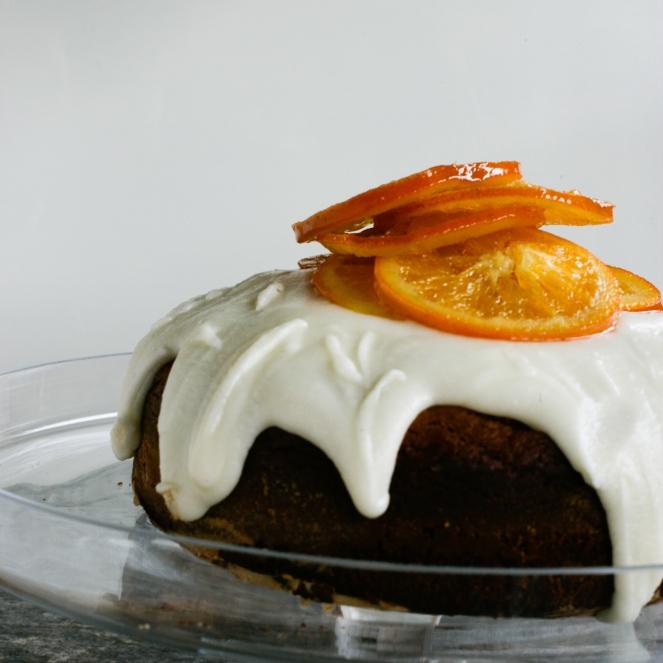 orange and date cake