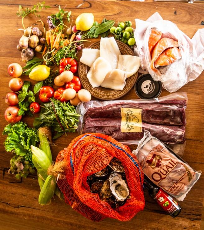 Tasman Peninsula produce